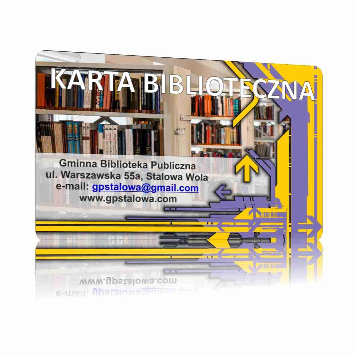 Karty plastikowe sklep - Karty biblioteczne/ Plastikowe karty czytelnika