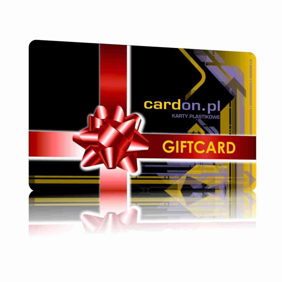 Karty plastikowe sklep - Karty prezentowe/ Karty podarunkowe/Voucher